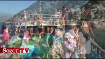 Antalya'da deniz keyfi hala sürüyor!