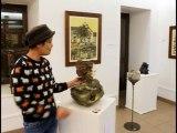Clotilde Cousin, Sculpture et modelage,  terre et matériaux naturels, la-fontaine.tv