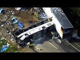 Eight killed, 14 injured in church bus crash in Tennessee