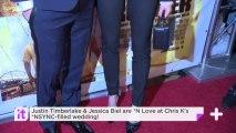 Justin Timberlake & Jessica Biel Are *N Love At Chris K's *NSYNC-filled Wedding!