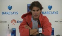 Rafael Nadal Press conference (in Spanish) at Barclays ATP World Tour Finals (04-11-13)
