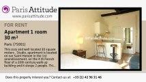 Studio Apartment for rent - Palais Royal, Paris - Ref. 6121
