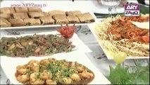 Zauq Zindagi with Sara Riaz and Dr. Khurram Musheer, American Chop Suey, Dry Beef Chilli, Garlic Prawns & Date Bars, 5-11-13, part 2