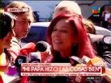 Iliana Calabró habló sobre la muerte de su padre