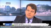 Politique Matin sur LCP : Thierry Solère débat avec Yann Galut