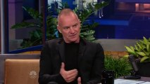 Sting - Interview + Practical Arrangement [Live on Jay Leno]