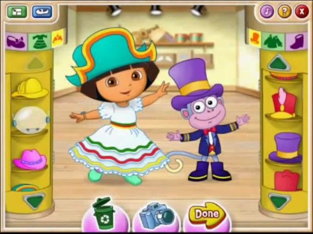 Dora The Explorer - Ballet Adventure - Full Game Episode