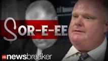 CRACK MAYOR: Toronto?s Rob Ford Admits He Did Smoke Crack Cocaine; Refuses to Resign