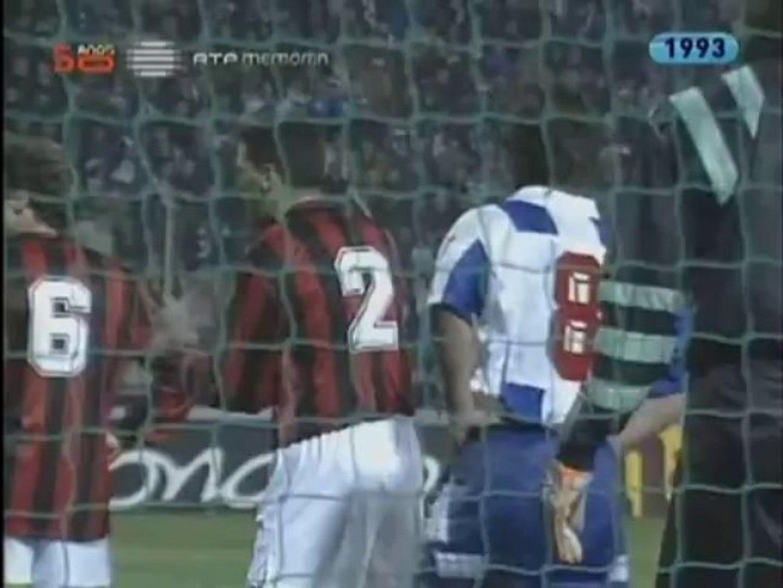 FC Porto v. AC Milan 03.03 1993 Champions League 1992/1993