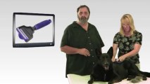 Pet Grooming For Dogs and Cats DeSheddinator Brush/Comb Tool
