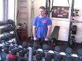 Shoulder superset workout- Lateral raise + Front raise