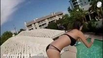 Compilation de FAILS à la PISCINE! Plongeons ratés, surfeurs débiles, nageurs idiots.