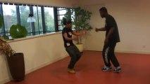 Slam et beat box de Myriam et Corneil pour le festival Caraïp'hop