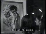 """""""Arti visive"""". Mostra delle arti visive (cinema  fotografia e pittura) al Palazzo delle Esposizioni. Espongono Borghese  Marasco  Fasan  Micangeli  Caffé  Muccini."""