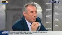 François Bayrou, invité de Bourdin Direct sur BFMTV - 061113