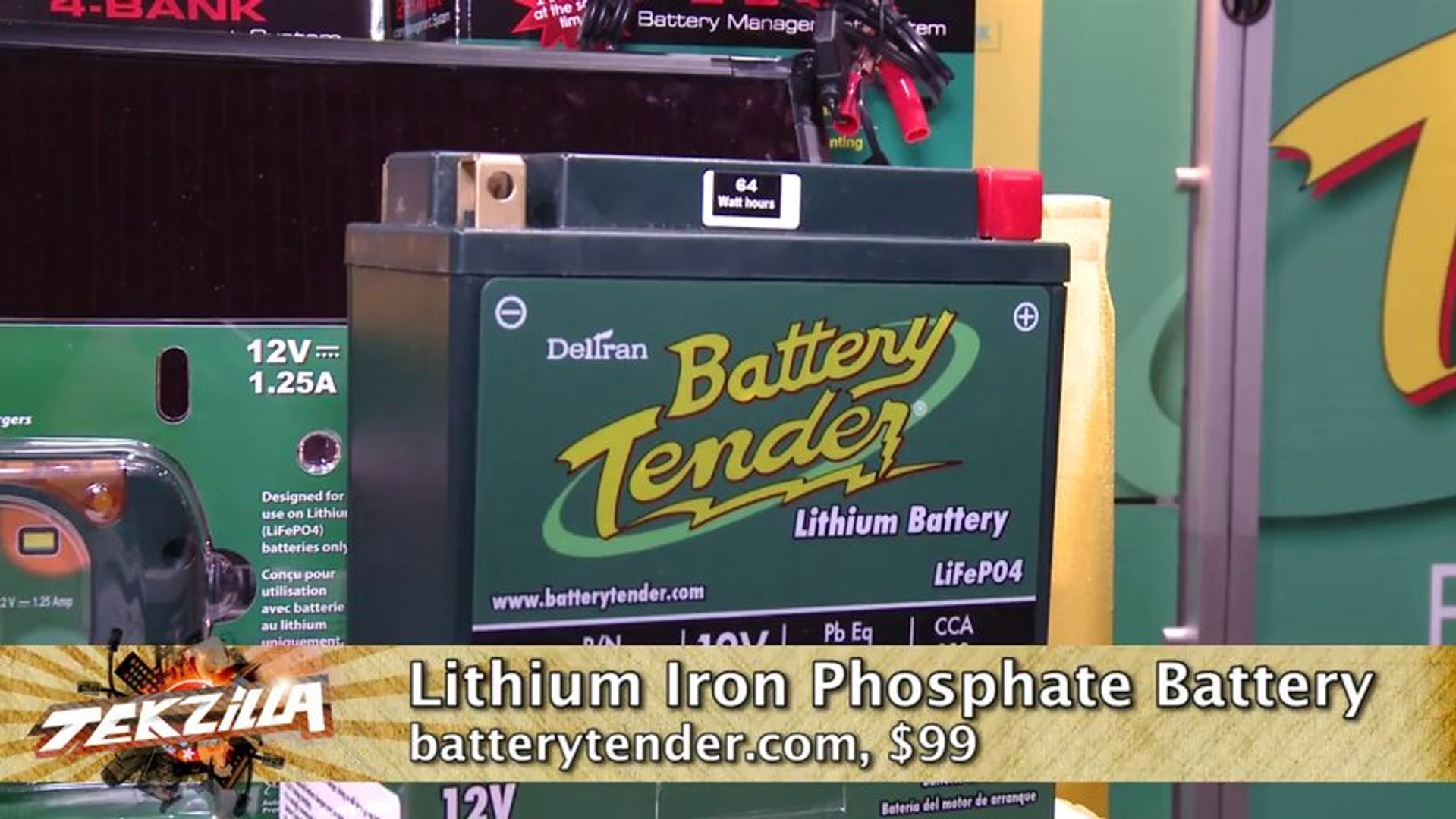 BatteryTender's Ultralight 12V Lithium Batteries - Tekzilla Bites