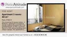 2 Bedroom Apartment for rent - Porte Maillot/Palais des Congrès, Paris - Ref. 8870