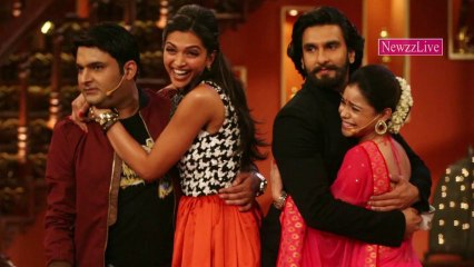 Deepika Padukone, Ranveer Singh At Comedy Nights With Kapil