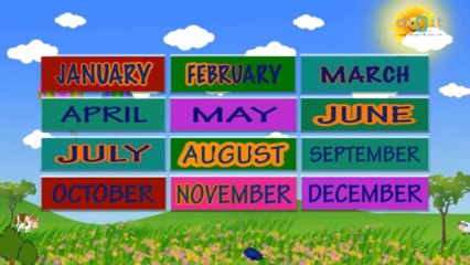 Learn The Months Of The Year - Learning For Kids!