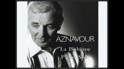Charles Aznavour - La Bohème - Piano Cover (Adaptation Pascal Mencarelli)