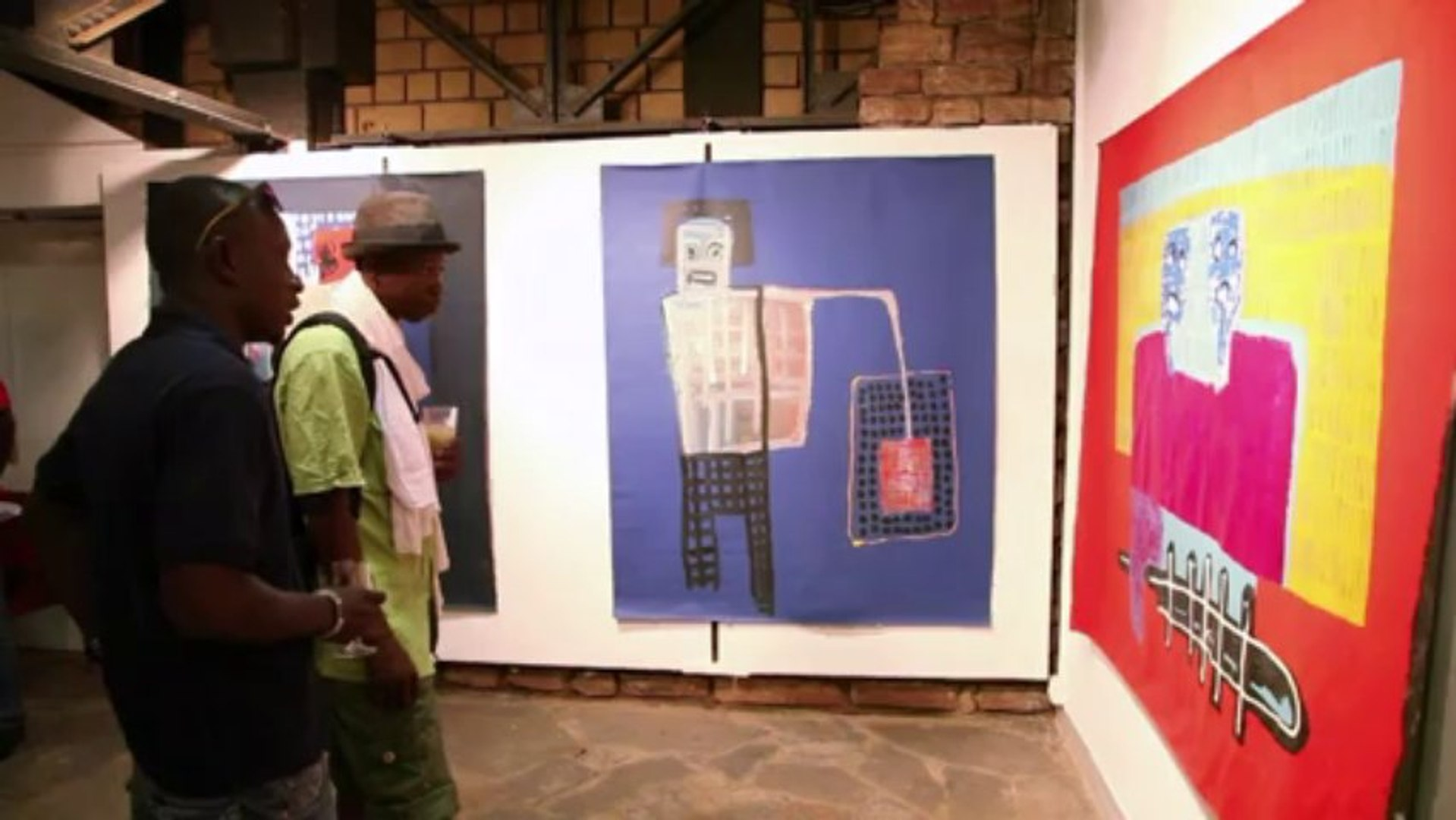 Malian artist tells story of his troubled country