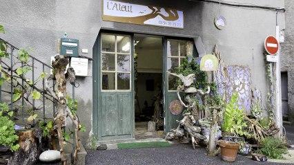 L'Ateul - Pascal Guidez - Huile sur Bois - Sculptures Bois Trouvés