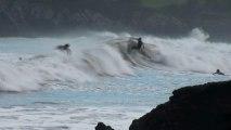 Surf en playa Palmera de Candás Asturias