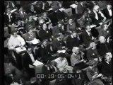 Germania: Adenauer celebra il suo 85° compleanno - Inghilterra: Presentata a Londra l'edizione inglese dell'enciclopedia italiana Conoscere - Italia: Giungono a Ciampino i naufraghi del Galatea. X Conferenza internazionale del servizio sociale al Pal..