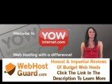 Web and email hosting, domain names - web hosting company YOW Internet