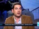 Débat sur FRANCE 24 ou le menteur collabos Lambert Mende au service du lobbying Tutsi persiste à nommer le M23 comme des Congolais