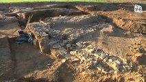 Archéologie : des vestiges découverts lors de fouilles préventives, près du Grézan