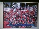 Mieux vaut un calot noir et rouge qu'un gros bonnet rouge !
