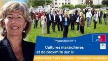 Andrésy Dynamique - Proposition N°1 : cultures maraîchères et de proximité sur les Côteaux