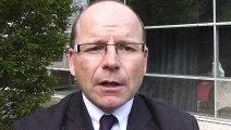 Frédéric Fructus; Directeur du Groupement d'Intérêt Economique (  GIE) OSIRIS, au Péage de Roussillon, présente ce site  exemplaire de l'industrie chimique