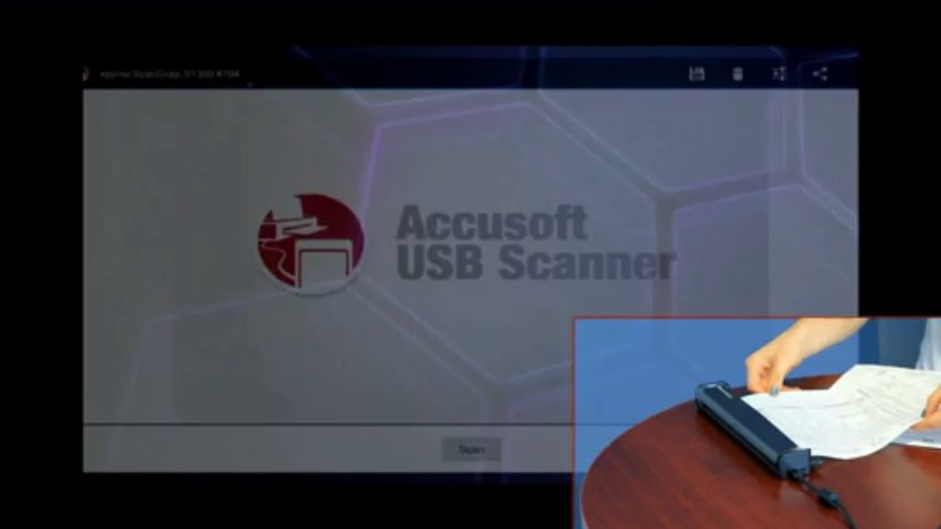 Accusoft USB Scanner App for Android Demonstration
