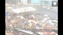El tifón más violento del año llega a Filipinas