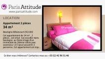 Appartement 1 Chambre à louer - Boulogne Billancourt, Boulogne Billancourt - Ref. 5836