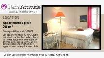 Appartement Studio à louer - Boulogne Billancourt, Boulogne Billancourt - Ref. 5794