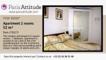 1 Bedroom Apartment for rent - Porte Maillot/Palais des Congrès, Paris - Ref. 2426