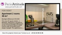 1 Bedroom Apartment for rent - Boulogne Billancourt, Boulogne Billancourt - Ref. 6398