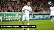 Galatasaray a proposé 12M pour Valbuena