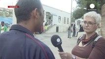 Des Syriens en grève de la faim à Lampedusa pour dénoncer leur liberté de mouvement