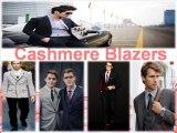 Mens Cashmere blazer In Modern Look By Men's USA