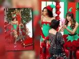 Lea Michele et Naya Rivera sont des elfettes sexy pour l'épisode de Noël de Glee