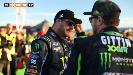 Gymkhana Grid en Madrid con Ken Block! Las Monster Girl cantan! para PRMotor TV Channel (HD)