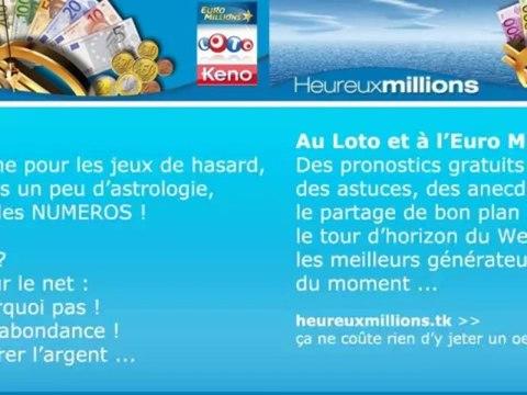 Euro Millions Loto et Keno : Gagner avec les bons numéros