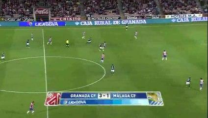Обзор матча · Гранада (Гранада) - Малага (Малага) - 3:1