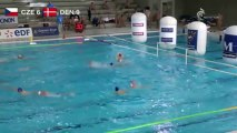 FFN - Water-polo : Match République Tchèque - Danemark