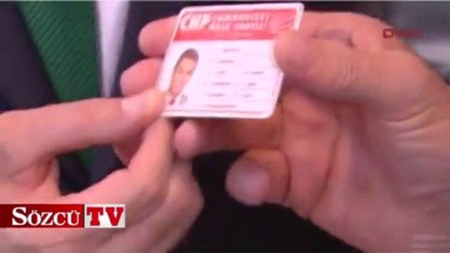 Sarıgül CHP kartını aldı ve öyle bir söz verdi ki...