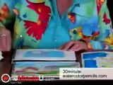 Mzondi Lungu Paint Instant Clouds - Watercolor Pencils